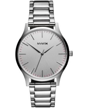 Mvmt Men's 40 Series Stainless Steel Bracelet Watch 40mm In Silver
