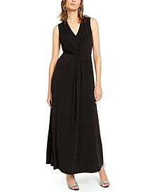 INC Pleat-Front Maxi Dress, Created For Macy's