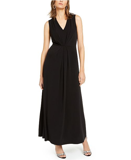 INC International Concepts INC Pleat-Front Maxi Dress, Created For Macy's