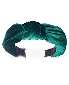INC Velvet Knotted Headband, Created For Macy's