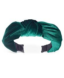 INC Velvet Knotted Headband, Created for Macy's