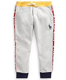 Little Boys Polo USA Cotton-Blend Jogger