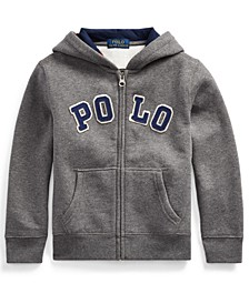 Toddler Boys Cotton-Blend-Fleece Hoodie