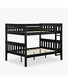 Hurley Full Over Bunk Bed with USB Port, Full