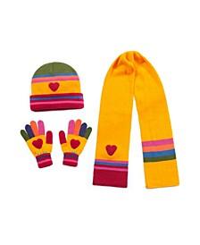 Big Girl Heart Knitwear Set