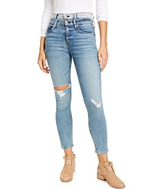 Holly High-Rise Skinny Ankle Jeans