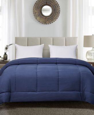Reversible Down Alternative King Comforter