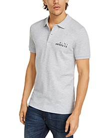 "Men's Slim-Fit Stretch Mini Pique ""3D"" Polo Shirt"
