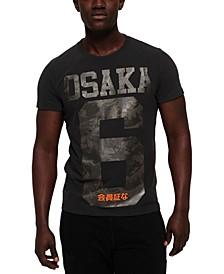 Men's Osaka Textured Logo T-Shirt