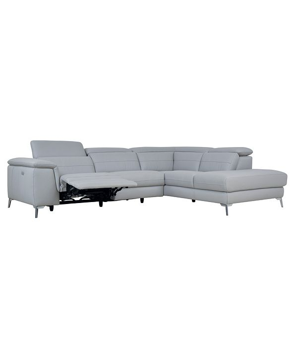 Furniture Amite 2pc Power Reclining Sectional Sofa
