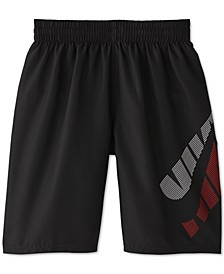 Big Boys 1-Pc. Tilt Breaker Volley Swim Trunks