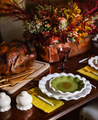 by Laura Johnson Turkey Ruffle Spoon Rest
