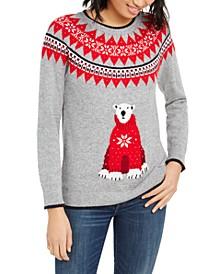 Fair Isle Bear Sweater