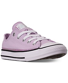 Little Girls Chuck Taylor All Star Iridescent Low Top Casual Sneakers from Finish Line