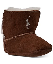 Infant Girls Mallor Suede Toggle Layette Booties from Finish Line