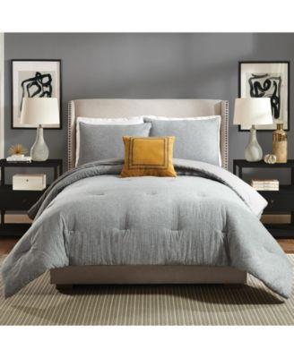 Asher Full/Queen 3 Piece Comforter Set