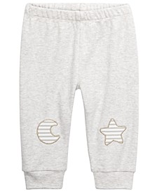 Baby Unisex Moon & Star Jogger Pants, Created For Macy's