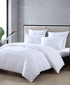 Triple Diamond Twin Duvet Cover Set