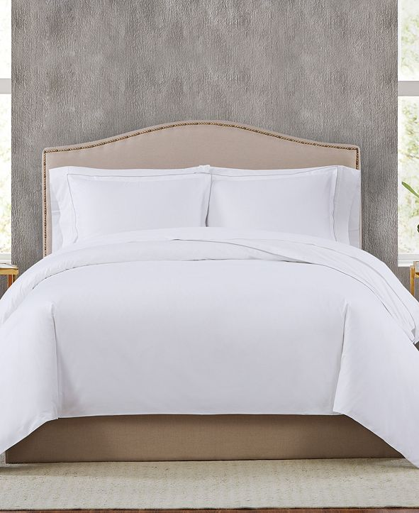 Charisma 400TC Percale Cotton King Duvet Set