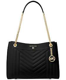 Michael Michael Kors Susan Quilted Shoulder Bag