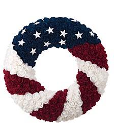 Multicolor 4th of July Patriotic Wreath