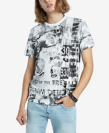 Men's Collage All Over Print T-Shirt