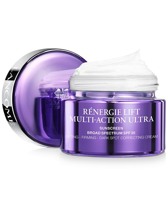 Lancome Rénergie Lift Multi-Action Ultra Cream SPF 30 Face Moisturizer, 1.7 oz.