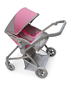 Voyage Twin Carriage Doll Stroller