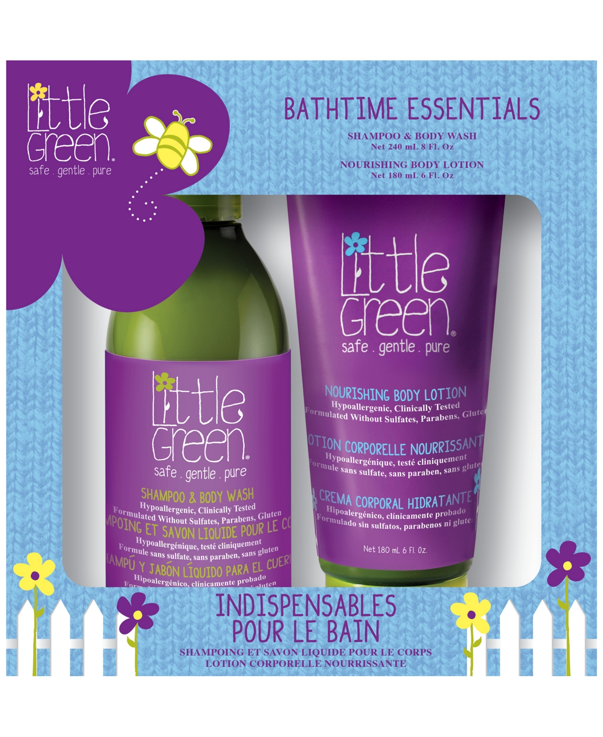 Kids Bath time Essentials Set of 2