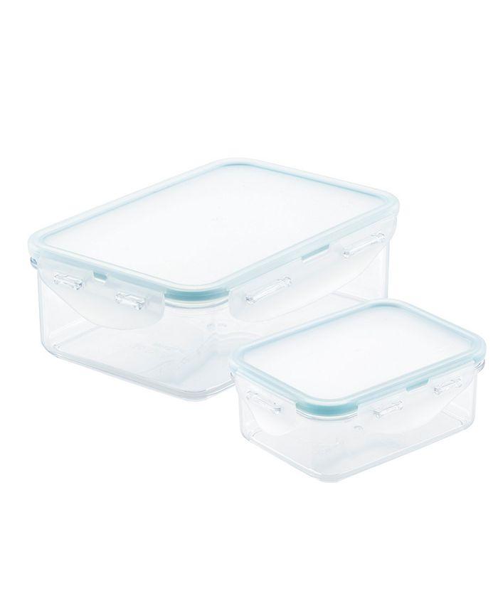 Lock n Lock - Purely Better™ Rectangular 2-Pc. Food Storage Container Set