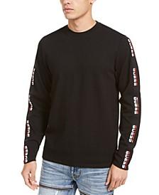Men's Nash Sport Logo Taped Long Sleeve T-Shirt
