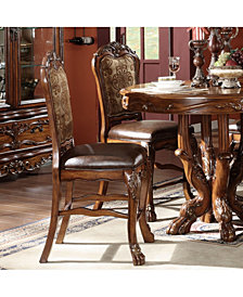 Acme Furniture Dresden Counter Height Chair, Set of 2
