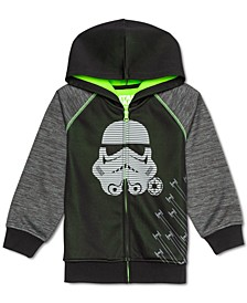 Little Boys Stormtrooper Colorblocked Full-Zip Hoodie