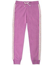 Big Girls Logo-Tape Jogger Pants