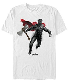 Men's Avengers Endgame Painted Thor, Short Sleeve T-shirt