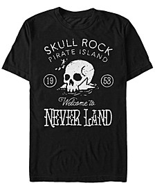 Men's Peter Pan Skull Rock Vintage Inspired, Short Sleeve T-Shirt