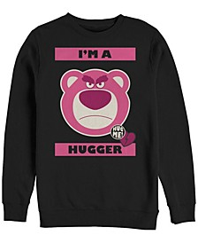 Men's Toy Story Hugger Lotso Bear, Crewneck Fleece