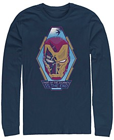 Men's Iron Man the End Short, Long Sleeve T-shirt