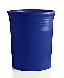 Fiesta Cobalt Utensil Crock