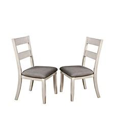 Pierremont Slat Back Side Chair- Set of 2