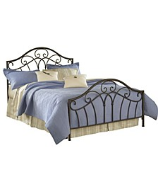 Furniture Josephine King Bed Set with Rails