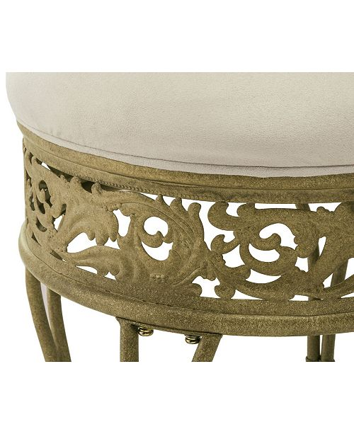 Astonishing Villa Iii Vanity Stool Ibusinesslaw Wood Chair Design Ideas Ibusinesslaworg