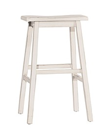 Moreno Non-Swivel Backless Counter Height Stool