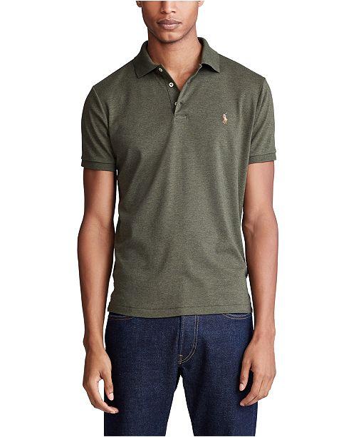 Polo Ralph Lauren Men's Custom Slim Fit Soft Touch Polo Shirt