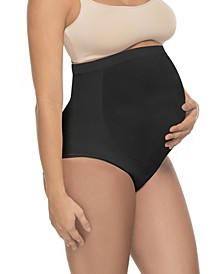 Women's Soft and Seamless Full Cut Pregnancy Brief