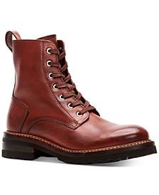 Ella Moto Lace Up Boots