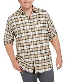 Men's Cornell Woods™ Big & Tall Plaid Flannel Shirt
