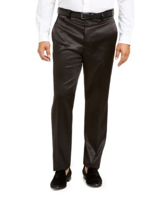 INC Men's Big & Tall Tuxedo Pants, Created for Macy's