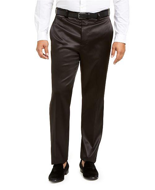 INC International Concepts INC Men's Big & Tall Tuxedo Pants, Created for Macy's