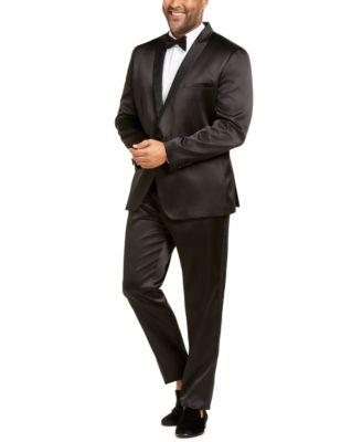INC Men's Big & Tall Tuxedo Pants, Created for Macy's